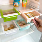 Slide Kitchen Tidy Fridge Freezer Space Save Organizer Storage Rack Shelf Holder