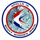 Nasa Apollo 15 Sticker Armed Forces Decal M406