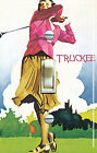 GOLF GAL Vintage Golf Poster Single Switch Plate ***FREE SHIPPING***