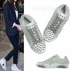 AnnaKastle New Womens Stud Embellished Low Top Fashion Sneakers US 5 6 7 8