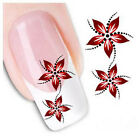 Newly Water Transfer Slide Decal Sticker Nail Art Tips Toe Decoration