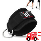 Ankle Straps Weight Lifting Gym D Ring Cable Attachment Strap Exercise Fitness