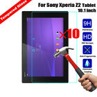 10Pcs 9H New Premium Tempered Glass Film Screen Protector For Sony Xperia Tablet