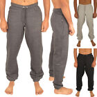 MENS SKINNY JOGGERS JOGGING BOTTOMS SLIM FIT TRACKSUIT FLEECE PANTS GYM SWEATS