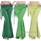 C96 Belly Dancing Costume Trousers with Shawl Tribal Fusion Yoga