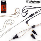 Westone MMCX Connector Cable optional MFI / MIC for AM UM Pro Adventure W Series