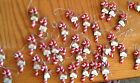 NEW CANDY CANE NAME CHRISTMAS ORN/GIFT TAG R ~ Z  Names in drop down variations