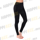Women Solid Full Length Seamless Stretch Footless Long Basic Tight Leggings Pant