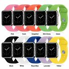 10Color Sport Silicone Rubber Wrist Strap Bracelet Band For Apple Watch Series 2
