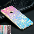 Pattern Rubber Soft Silicone Phone Back Case Cover for Apple iPhone 6 6 7 7 Plus