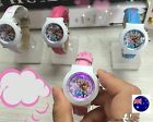 Kid Teenage Girl Pink Frozen Elsa Anna Wrist Watch Christmas Birthday Gift her