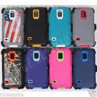 for Samsung Galaxy S5 Case Cover (Belt Clip Fits OtterBox Defender)