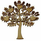 NEW MDF Our Family Wall PlaqueTree Shape Memory Tree Craft, Embellishment