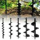 52cc GAS POWER EARTH ONE MAN POST FENCE HOLE DIGGER & DRILL BITS 4