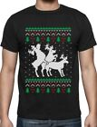 Funny Ugly Christmas Sweater Party Humping Reindeer T-Shirt Gift