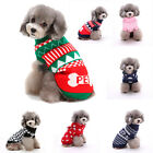 Cute Winter Warm Pet Sweater Coat Knitting Crochet Clothes for Dog Dachshund