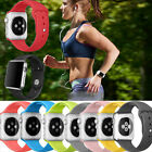 Sports Silicone Bracelet Replacement Band Strap For Apple Watch 38mm / 42mm
