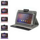 "iRULU Nuvision 7"" Android 5.0 Lollipop Quad Core 8GB Tablet PC BT w/Leather Case"