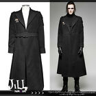 punk visual cosplay Soviet marshall air force Military trench coat Y697 BK