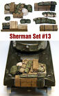 1/35 Scale Resin kit Sherman Engine Deck and Stowage Sets #13