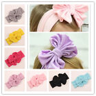 Kids Girls Toddler Baby Cotton Big Bow Elastic Headband Hair Band Accessories