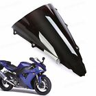 New 1Pcs ABS Double Bubble Windscreen Windshield for Yamaha YZF R1 2002-2003