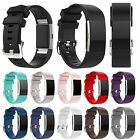 Silicone Classic Accessory Band Wrist Sport Watch Strap For Fitbit Charge 2