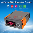 -50~110℃ LED All-Purpose Temperature Controller Thermostat w/ NTC Sensor Beeper