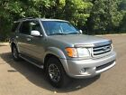 Toyota: Sequoia Limited Sport Utility 4-door 04 Toyota Sequoia Limited 4wd Dvd 3rd Row No Reserve