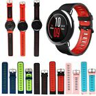 Sports Silicone Watch Wristband Strap w/Pin For Xiaomi Huami AMAZFIT Smart Watch