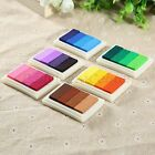 6 Colors Ink Pad Oil Based DIY Craftworks Rubber Stamps Paper Scrapbook Fabric