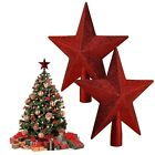 Home Decor Christmas Hanging Ornament Five-pointed Star Christmas Tree Topper