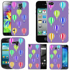 hard case cover for many mobiles  -violet colourful air balloons
