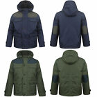 NEW BOYS HOODED QUILTED PARKA PADDED MILTARY JACKET  WINTER SCHOOL COAT 7/13
