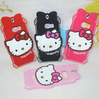 HelloKitty With Diamond Silicone Back Case Cover For Samsung Galaxy S6