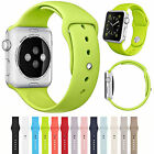 Sports Silicone Replacement Band Bracelet For Apple Watch Series 1 2 Small/Large