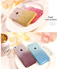 3 in 1 Silicone Gradient Glitters Bling Phone Case for iPhone 7 4.7/ 7 Plus