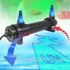Aquarium Pond Fish Tank Sterilizer UV Lamp Light Clarifier For Filter Pump LIGHT