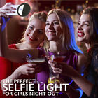 Portable Selfie LED Ring Flash Light Camera Rechargeable For IPhone Mobile Phone