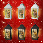 Christmas Tree Lantern LED Decorations Snowman Music Indoor Outdoor Santa Snow