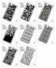 Black Lace Pattern Flower Vintage Hard Back Cover Case for iPhone 6 6S 7