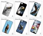 US American Hawk Eagle Eyes Face Hard Back Cover Case for iPhone 5 5S