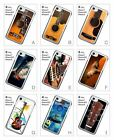 Acoustic Strings Wooden Wood Guitar Hard Back Cover Case for iPhone 6 6S 7