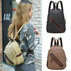 Unisex Convertible Canvas Small Backpack Rucksack Daypack Chest Pack Sling Bag