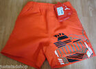 Puma boy beach swim shorts  7-8 y 128 cm BNWT red
