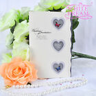 Personalised Hearts & Butterflies Wedding Invitations Day/Evening FREE ENVELOPES