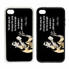 Bruce Lee Quote - Rubber and Plastic Phone Cover Case