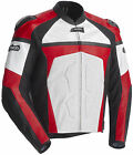 CORTECH ADRENALINE LEATHER JACKET RED WHITE X-LARGE XL 8971-0101-07