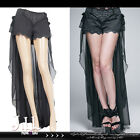 goth Aristocrat princess filigree embroidery dress shorts w/ bustle skirt PT027