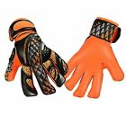 Football Goalkeeper Gloves GK Saver Prime PR04 Flat Finger Save Goalie Gloves